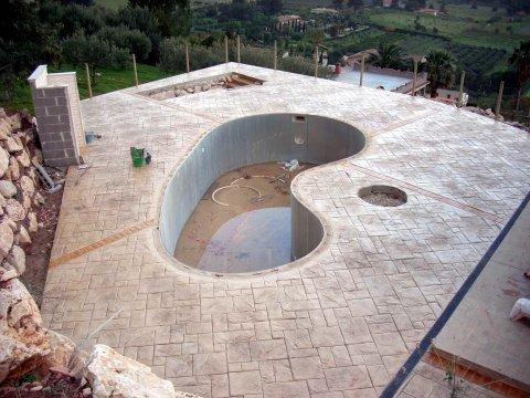 Pavimenti In Cemento Stampato : Immagine pavimenti in cemento stampato