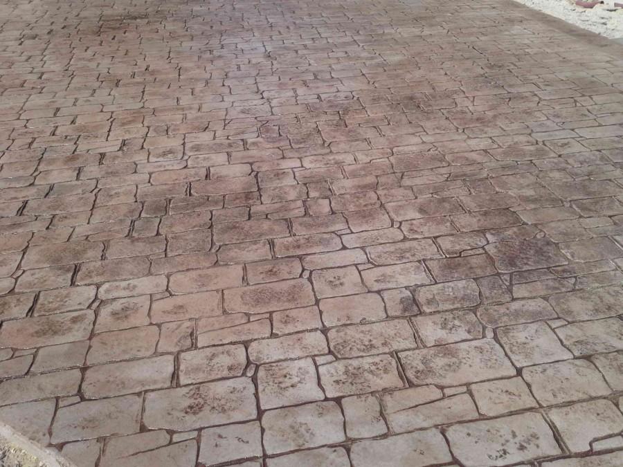 Stampato Castellammare del Gol 15/60  Pavimenti in cemento stampato